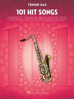 101 Hit Songs for Tenor Sax Partition Saxophone - laflutedepan