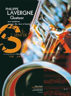 Quatuor Philippe Lavergne Partition Saxophone - laflutedepan