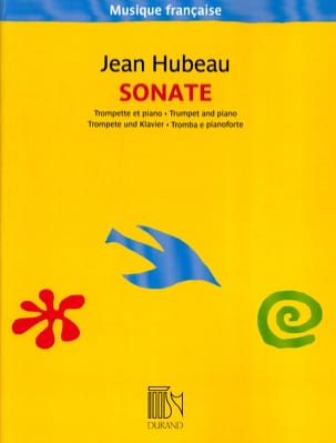 Sonate Jean Hubeau Partition Trompette - laflutedepan