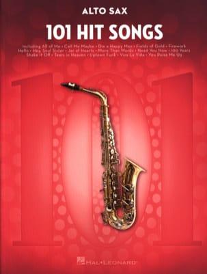 101 Hit Songs for Alto Sax Partition Saxophone - laflutedepan