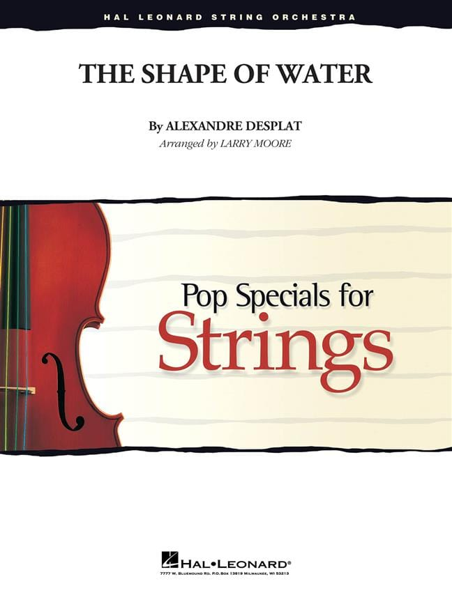 The Shape Of Water - Pop Specials For Strings - laflutedepan.com