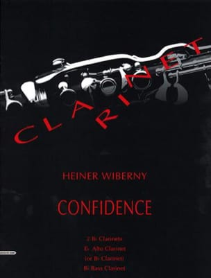 Confidence Heiner Wiberny Partition Clarinette - laflutedepan
