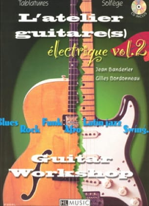 L' Atelier Guitare(S) Electrique Volume 2 - laflutedepan.com