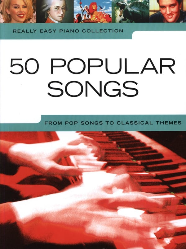 Really easy piano - 50 Popular songs from pop songs to classical themes - laflutedepan.com