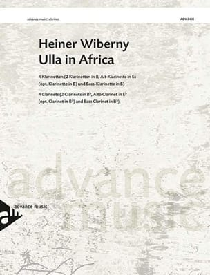 Ulla In Africa Heiner Wiberny Partition Clarinette - laflutedepan