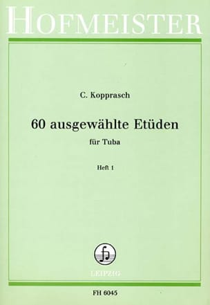60 Ausgewählte Etüden Heft 1 Georg Kopprasch Partition laflutedepan