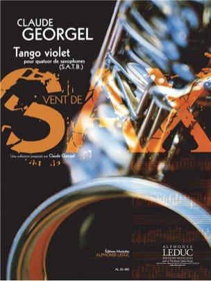 Tango Violet Claude Georgel Partition Saxophone - laflutedepan