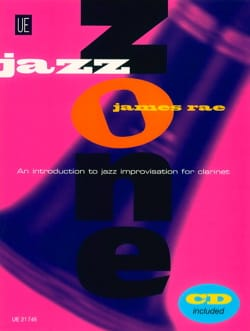Jazz Zone - Clarinet James Rae Partition Clarinette - laflutedepan