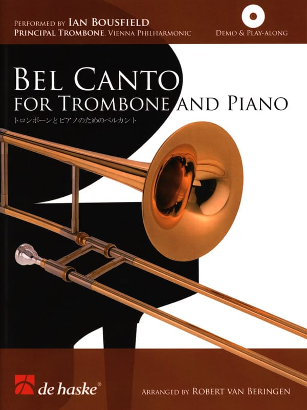Bel Canto For Trombone And Piano - Partition - laflutedepan.com