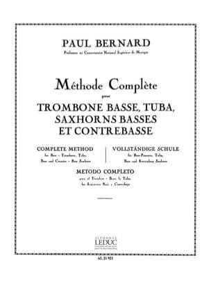 Méthode Complète P. Bernard Partition Trombone - laflutedepan