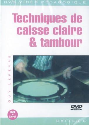 DVD - Techniques de Caisse Claire & Tambour Guy Lefèvre laflutedepan