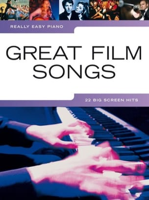 Really easy piano - Great film songs Partition laflutedepan