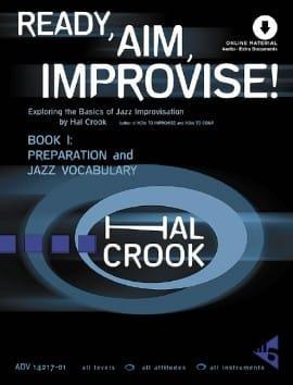 Ready, Aim, Improvise! - Volume 1 Hal Crook Partition laflutedepan