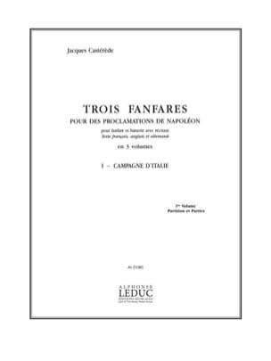 3 Fanfares 1- Campagne D' Italie. 11 Parties - laflutedepan.com