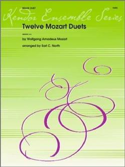 12 Mozart Duets - MOZART - Partition - laflutedepan.com