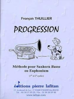Progression François Thuillier Partition Tuba - laflutedepan