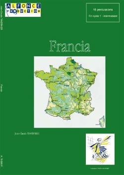 Francia TAVERNIER Partition Ensemble de percussions - laflutedepan
