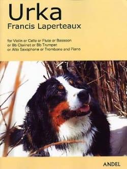 Urka - Saxo Alto Francis Laperteaux Partition Saxophone - laflutedepan
