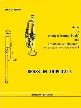 Brass In Duplicate - Duets Partition laflutedepan