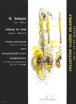 Johnny le Chat Gino Samyn Partition Saxophone - laflutedepan