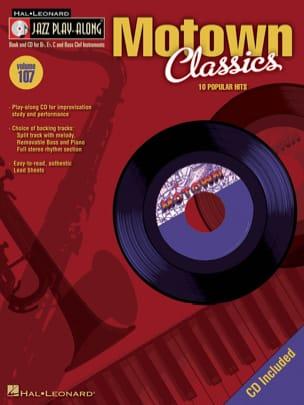 Jazz play-along volume 107 - Motown Classics Partition laflutedepan