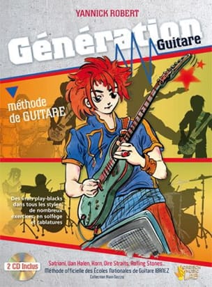 Génération Guitare - Méthode de Guitare Yannick Robert laflutedepan
