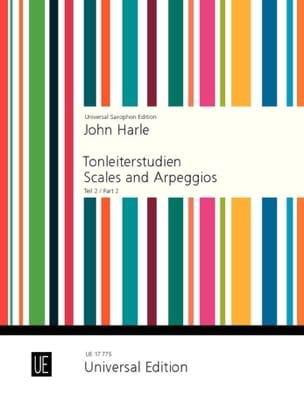 Scales and arpeggios part 2 - John Harle - laflutedepan.com