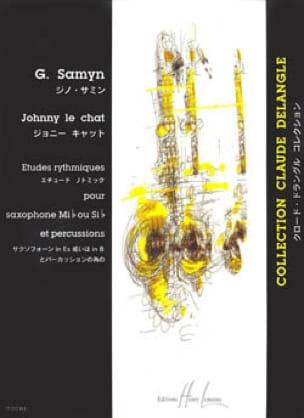 Johnny le Chat - Gino Samyn - Partition - Saxophone - laflutedepan.com
