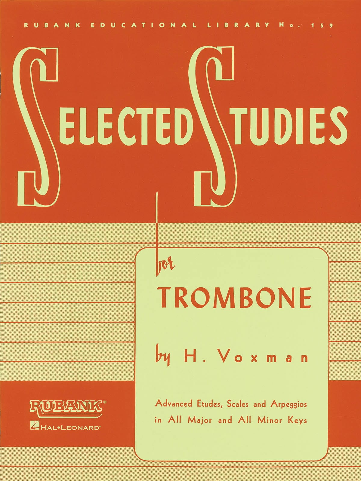 Rubank Selected Studies - H. Voxman - Partition - laflutedepan.com
