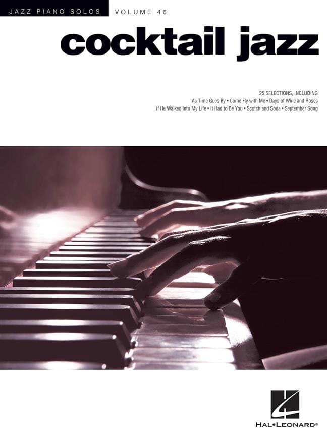Jazz Piano Solos Series Volume 46 - Cocktail Jazz - laflutedepan.com