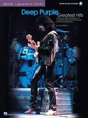 Greatest Hits Deep Purple Partition Pop / Rock - laflutedepan