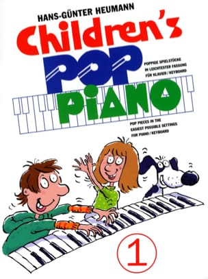 Children's Pop Piano Volume 1 Hans-Günter Heumann laflutedepan