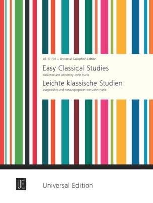 Easy classical studies John Harle Partition Saxophone - laflutedepan