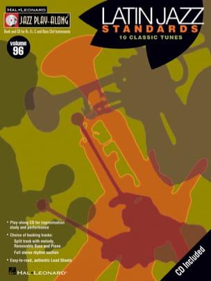 Jazz play-along volume 96 - Latin Jazz Standards laflutedepan