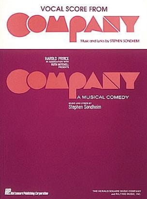Company - Vocal Score Stephen Sondheim Partition laflutedepan