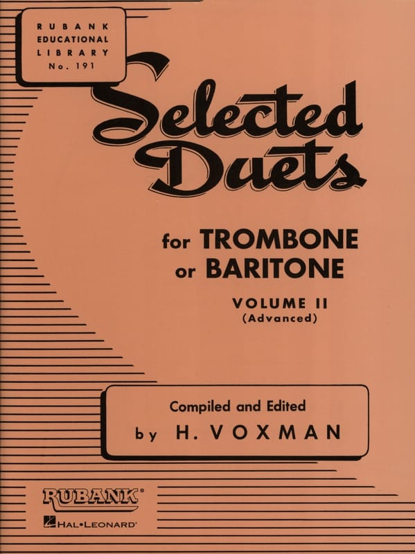 Selected Duets Volume 2 - Voxman - Partition - laflutedepan.com