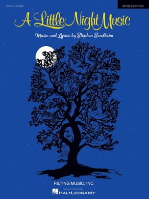 A Little Night Music - Vocal Score Stephen Sondheim laflutedepan