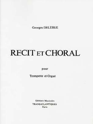 Récit et Choral - Georges Delerue - Partition - laflutedepan.com