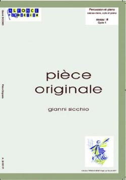 Pièce Originale Gianni Sicchio Partition laflutedepan
