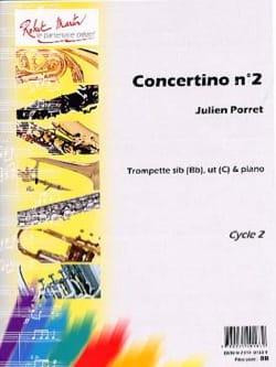 Concertino N° 2 Julien Porret Partition Trompette - laflutedepan