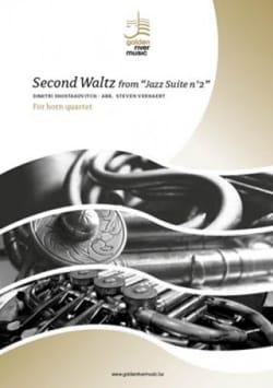 Second Waltz from Jazz Suite n°2 - Quatuor de Cors laflutedepan