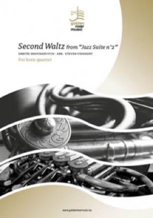 Second Waltz from Jazz Suite n°2 - Quatuor de Cors - laflutedepan.com