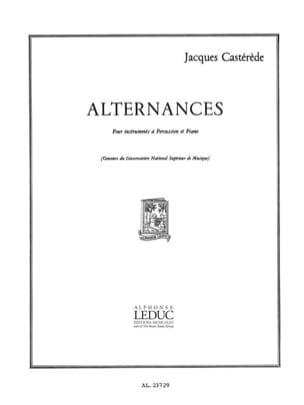 Alternances Jacques Castérède Partition laflutedepan