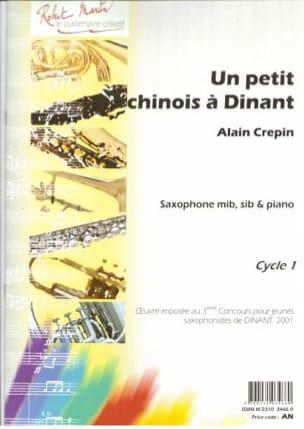 Un petit Chinois à Dinant Alain Crepin Partition laflutedepan