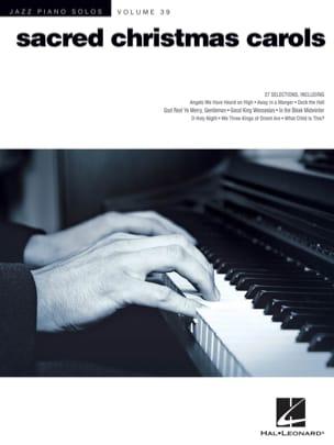 Jazz Piano Solos Series Volume 39 - Sacred Christmas Carols laflutedepan