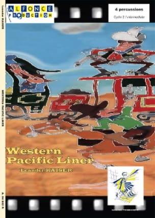 Western Pacific Liner - Leander Kaiser - Partition - laflutedepan.com