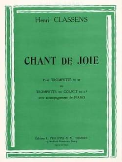 Chant de Joie - CLASSENS - Partition - Trompette - laflutedepan.com