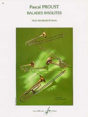 Balades insolites - Pascal Proust - Partition - laflutedepan.com