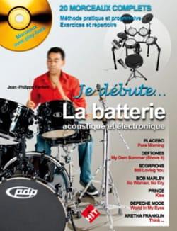 Je débute la batterie Jean-Philippe Fanfant Partition laflutedepan