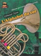 L' Alphabet du Cor Emmanuel Dijoux Partition Cor - laflutedepan